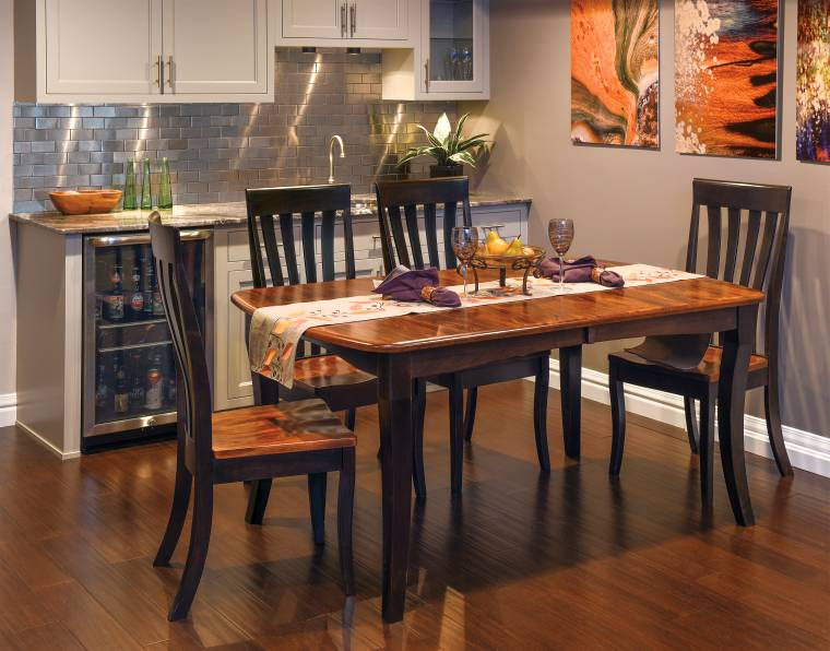 Canterbury Room Setting with Artisan Chairs