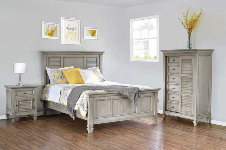 The Legacy Village Bedroom Collection