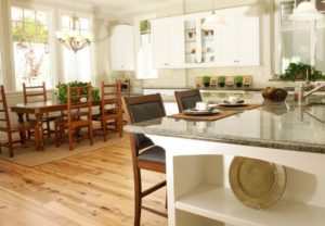 Contrasting your cabinets to your table
