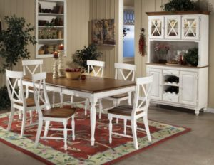 Coordinating your cabinets to your table