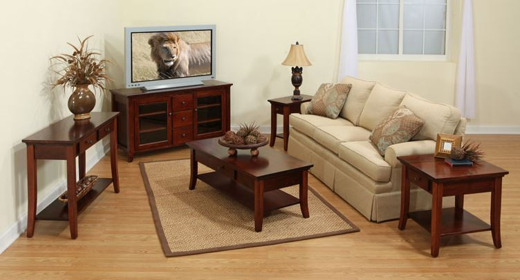 What Size End Table Do I Need? | Furniture - Amish Made Solid Wood | Amish Furniture Collection
