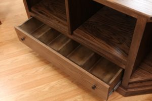 TV Stand with Media Drawers