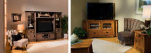 Entertainment Center and TV Stand Corner Unit