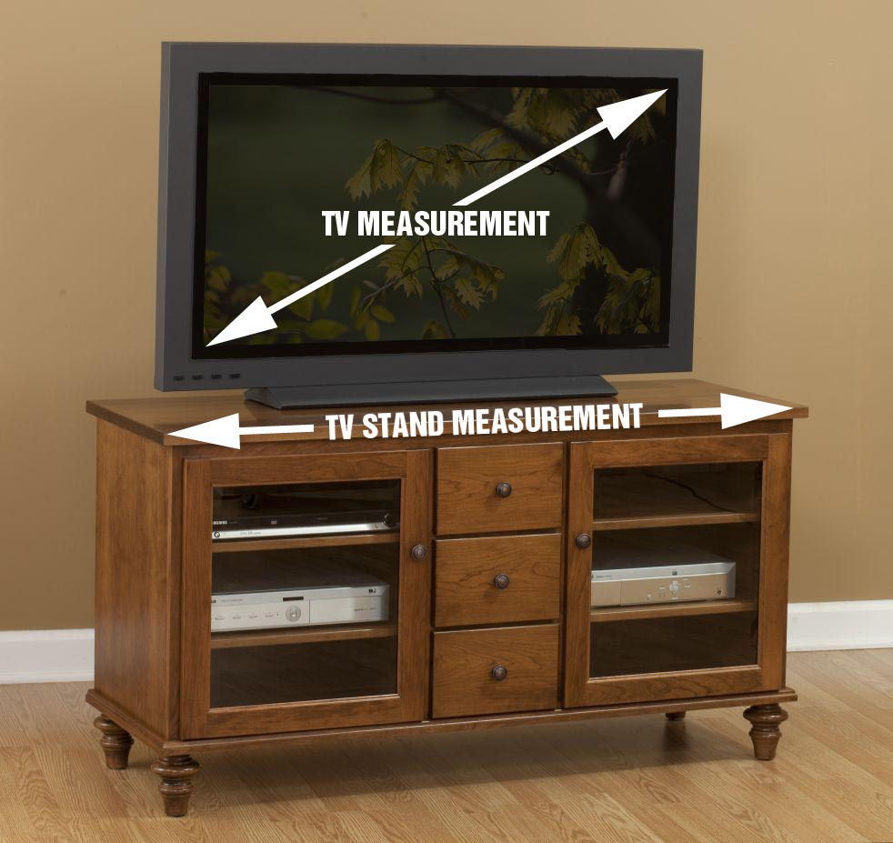 TV Stand vs TV Measurements