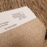 What Do The Codes On The Back Of Fabric Samples Mean?