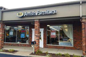 The Storefront of the The Amish Furniture Collection