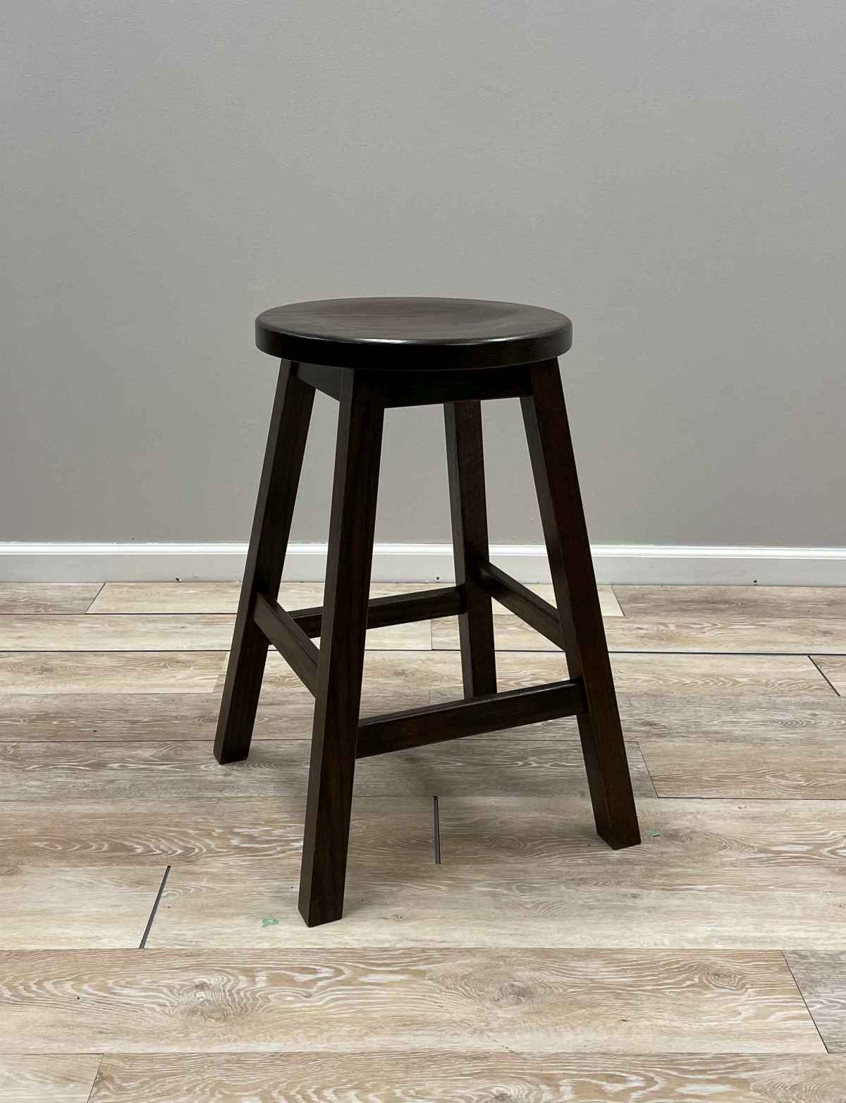 Mission Barstool with Round Seat